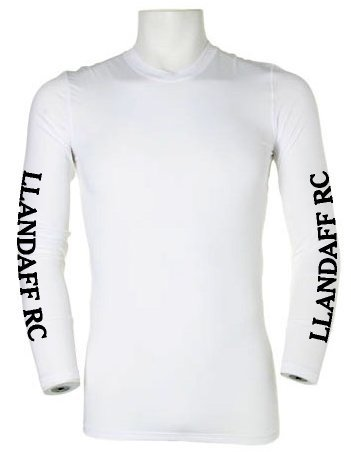 Llandaff RC White Baselayer