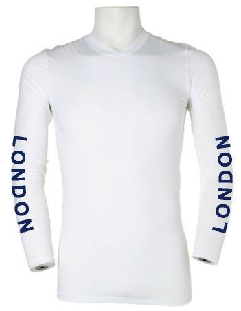 London RC White Baselayer