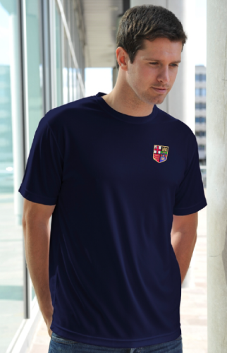 London RC Men's Navy Tech T-Shirt