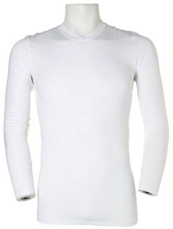 White Warmtex Long Sleeved Baselayer