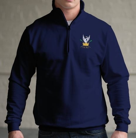 CSRC Navy 1/4 Zip Sweatshirt