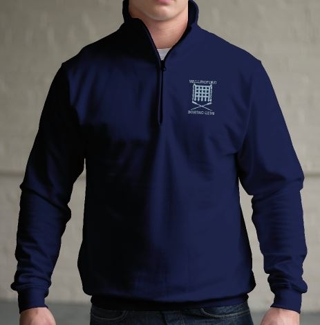 WRC Navy1/4 Zip Sweatshirt