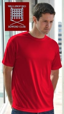WRC Men's Red Tech T-Shirt