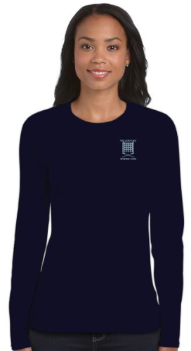 WRC Women's LS Navy T-Shirt
