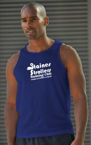 Staines Strollers Men's Royal Blue Training Vest