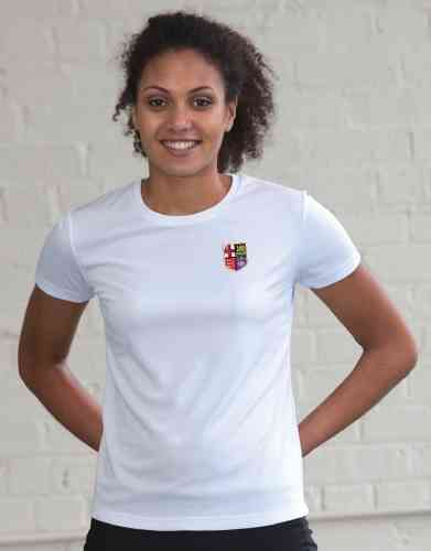 London RC Women's White Tech T-Shirt