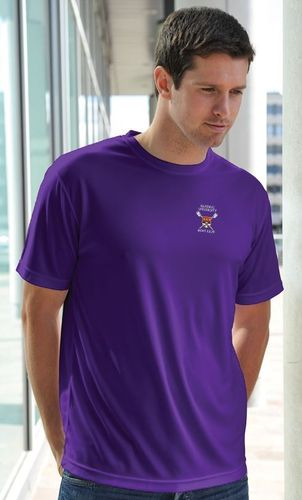RUBC Men's Purple Tech T-Shirt