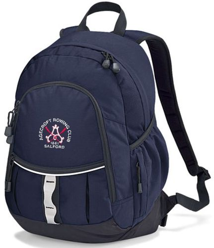 Agecroft RC Navy Backpack