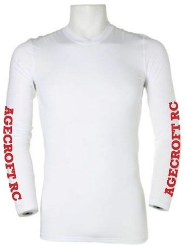 Agecroft RC White Baselayer