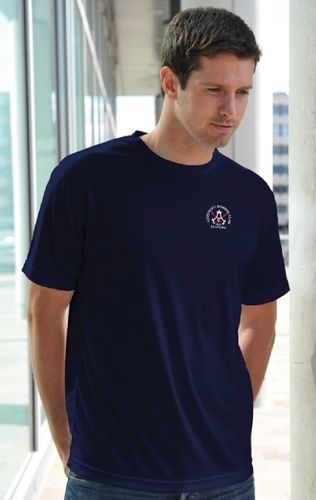 Agecroft RC Men's Navy Tech T-Shirt