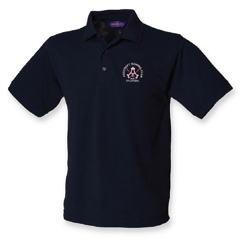Agecroft RC Men's Navy Polo Shirt