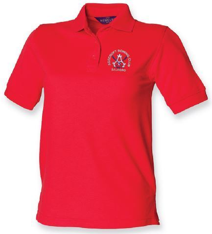 Agecroft RC Women's Red Polo Shirt
