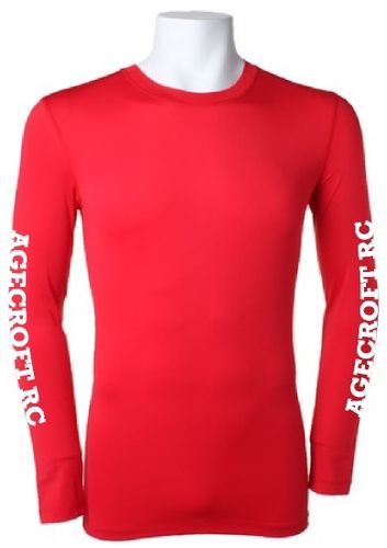 Agecroft RC Red Baselayer