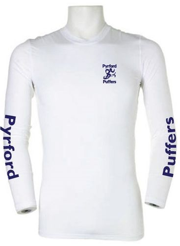 Pyrford Puffers White Baselayer