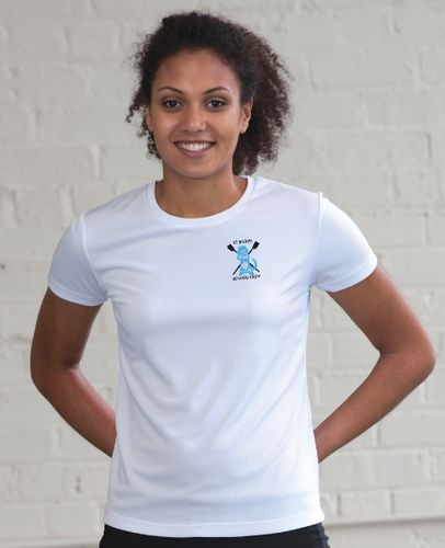 St Mary's Women's White Tech T-Shirt