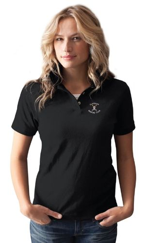 Llandaff RC Women's Black Polo Shirt