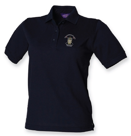 Collingwood College BC Women's Navy Polo Shirt