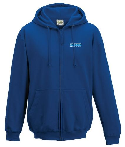 Monnow Swimming Club Adults Zipped Hoodie