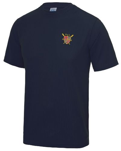 UCLBC Men's Navy Tech T-Shirt