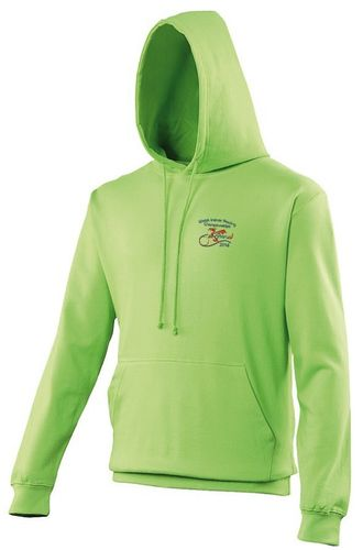 Welsh Indoor Rowing Green Hoodie 2016