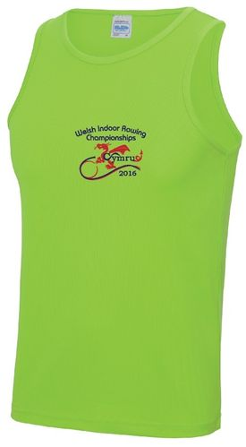 Welsh Indoor Rowing Men's Vest 2016