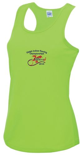 Welsh Indoor Rowing Women's Vest 2016