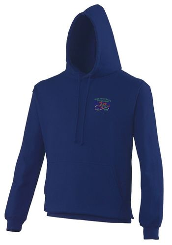 Welsh Indoor Rowing Blue Hoodie 2016