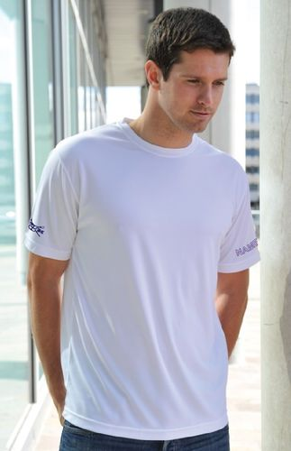DUBC Lwts Men's White Tech T-Shirt