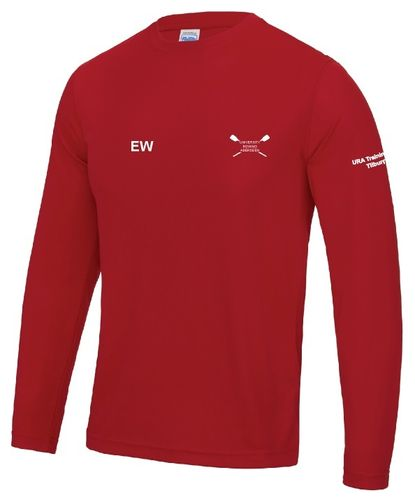 Red Long Sleeved Cool T 2017 Camp