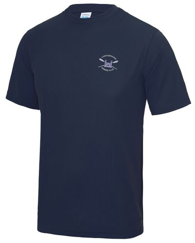 Cantabrigian RC Men's Navy Tech T-Shirt