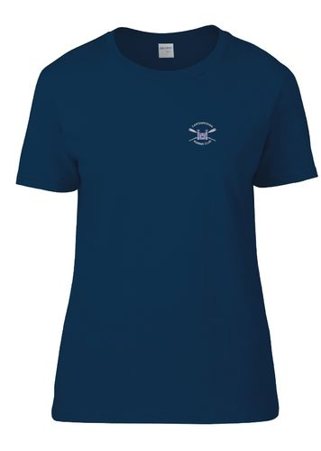 Cantabrigian RC Women's Navy T-Shirt