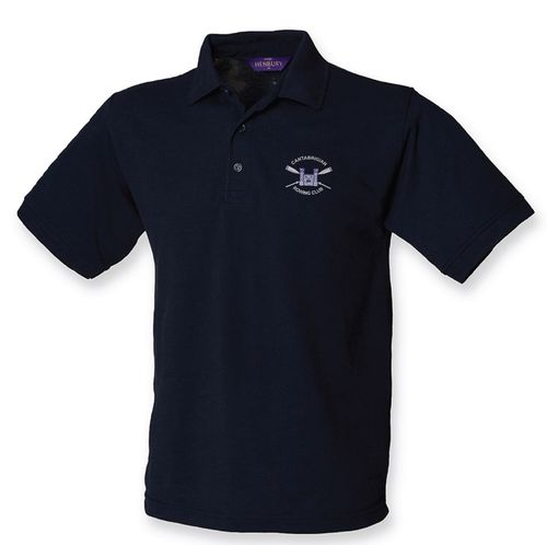 Cantabrigian RC Men's Navy Polo Shirt