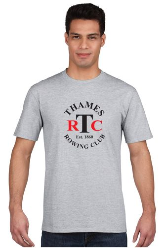 Thames RC Men's Grey T-Shirt