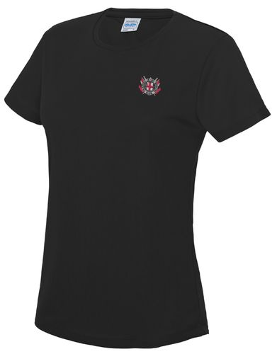 Thames RC Women's Black Tech T