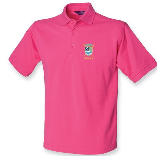 PTRC Pink HOCR 2018 Men's Polo Shirt