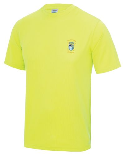 PTRC Men's HOCR 2018 Electric Yellow Tech T-Shirt