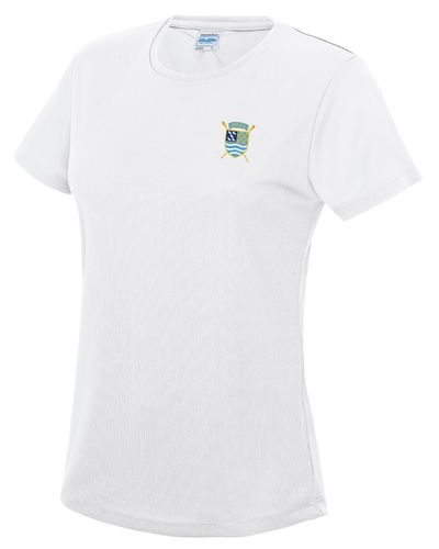PTRC Women's HOCR 2018 White Tech T