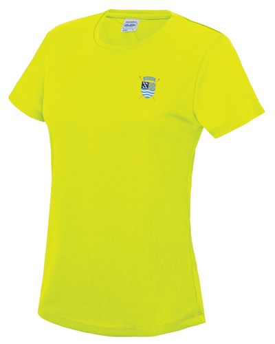 PTRC Women's HOCR 2018 Electric Yellow Tech T
