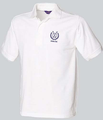 Globe RC Men's White Polo Shirt