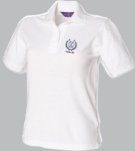 Globe RC Women's White Polo Shirt
