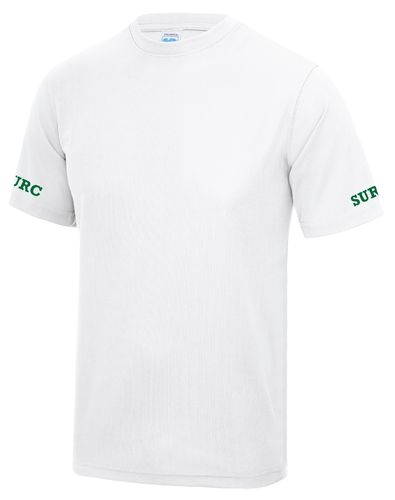 SURC Men's White Tech T-Shirt