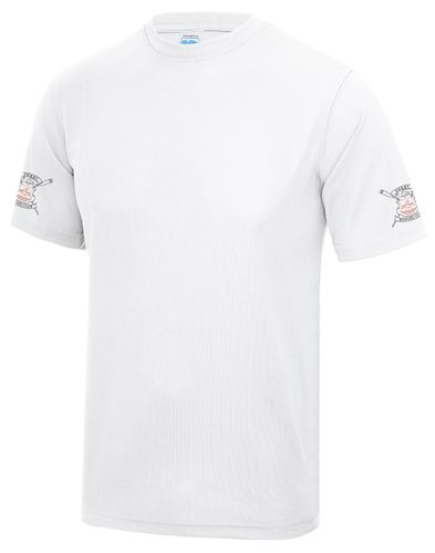 Derby RC Men's White Tech T-Shirt