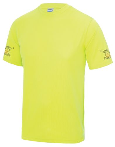 Derby RC Men's Electric Yellow Tech T-Shirt