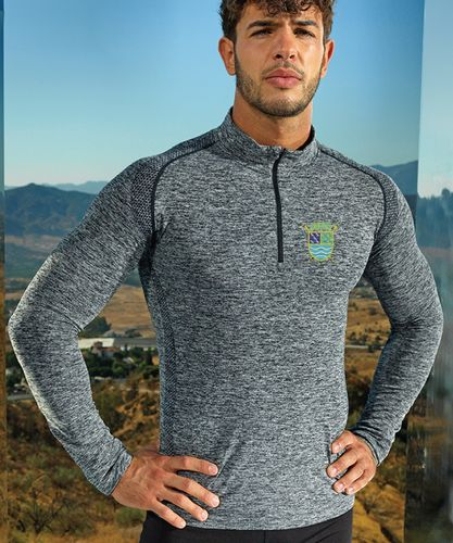 PTRC Men's Long Sleeved Performance Zip Top