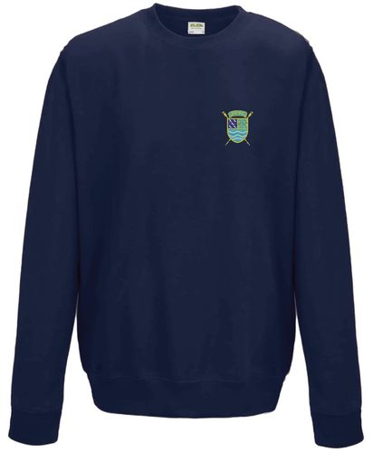 PTRC Navy Sweatshirt Embroidered Front