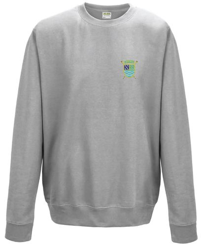 PTRC Grey Sweatshirt Embroidered Front