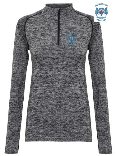 MCSBC Women's Long Sleeved Performance Zip Top
