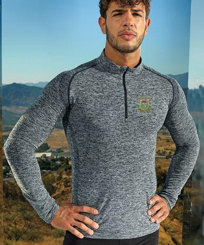 SURC Men's Long Sleeved Performance Zip Top