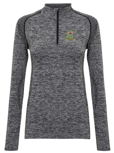 SURC Women's Long Sleeved Performance Zip Top
