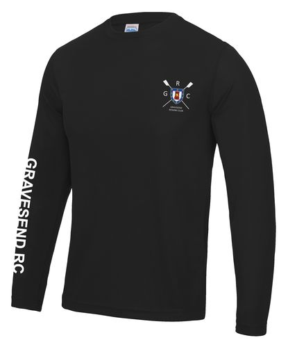 Gravesend RC Men's Long Sleeved Cool T